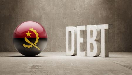 subprime: Angola High Resolution Debt  Concept