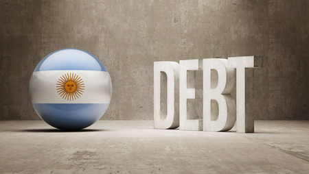 Argentina High Resolution Debt  Concept