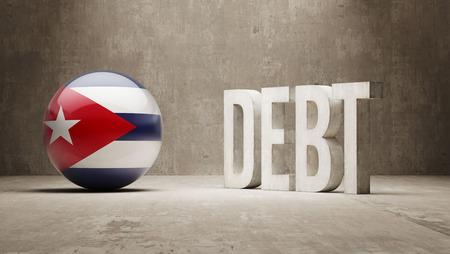 subprime: Cuba High Resolution Debt  Concept