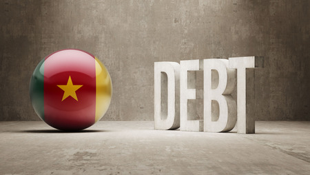 subprime: Cameroon High Resolution Debt  Concept Stock Photo