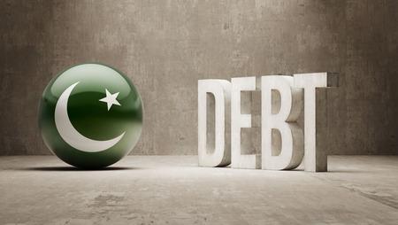 subprime: Pakistan High Resolution Debt  Concept