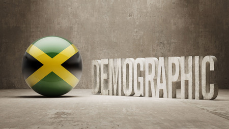 demographic: Jamaica High Resolution Demographic  Concept