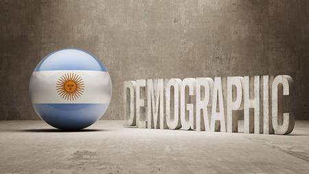 demographic: Argentina High Resolution Demographic  Concept