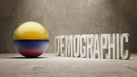 demographic: Colombia High Resolution Demographic  Concept