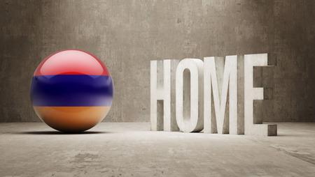 armenian: Armenia High Resolution Home  Concept Stock Photo