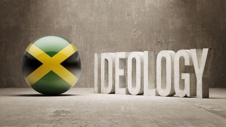 ideology: Jamaica High Resolution Ideology  Concept Stock Photo