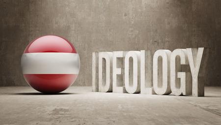 ideology: Austria High Resolution Ideology  Concept