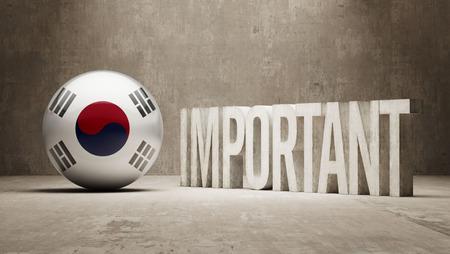 critical: South Korea High Resolution Important  Concept