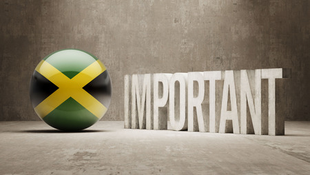 ponderous: Jamaica High Resolution Important  Concept