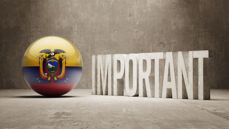 critical: Ecuador High Resolution Important  Concept
