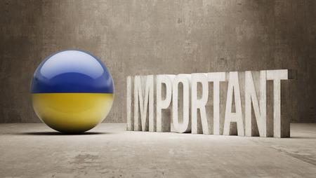 ponderous: Ukraine High Resolution Important  Concept Stock Photo