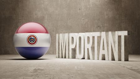 ponderous: Paraguay High Resolution Important  Concept