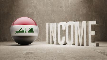 iraq money: Iraq High Resolution Income  Concept