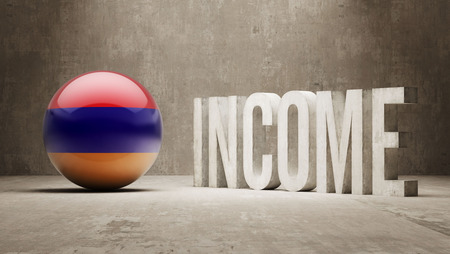 armenian: Armenia High Resolution Income  Concept Stock Photo