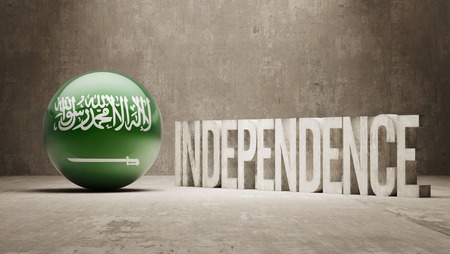 Saudi Arabia High Resolution Independence Concept photo