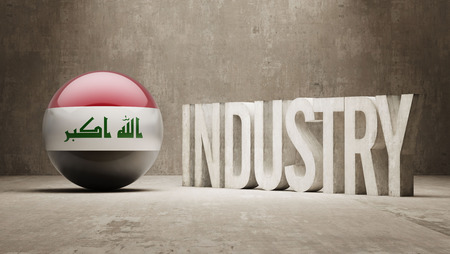 manufactory: Iraq High Resolution Industry Concept
