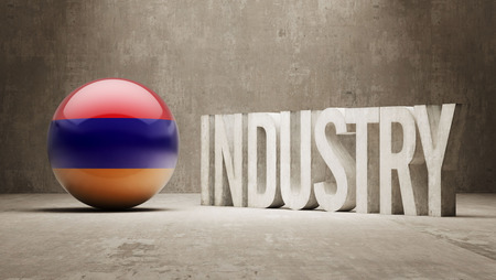 manufactory: Armenia High Resolution Industry Concept Stock Photo