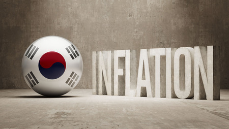 inflation: South Korea High Resolution Inflation Concept