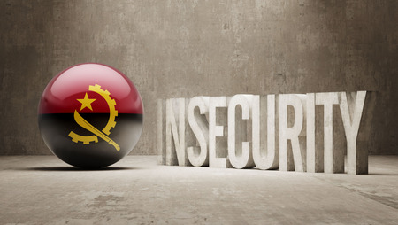 insecurity: Angola High Resolution Insecurity Concept