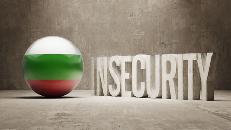 insecurity: Bulgaria High Resolution Insecurity Concept