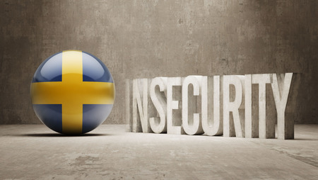 insecurity: Sweden High Resolution Insecurity Concept