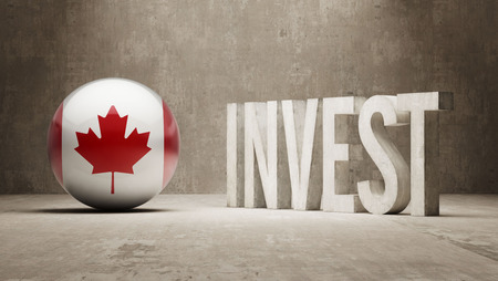 financial advisors: Canada High Resolution Invest Concept