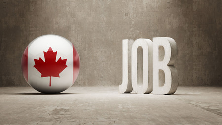 classified ad: Canada High Resolution Job Concept