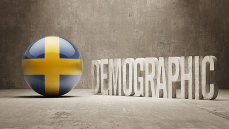 demographic: Sweden High Resolution Demographic  Concept