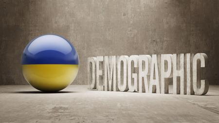 demographic: Ukraine High Resolution Demographic  Concept