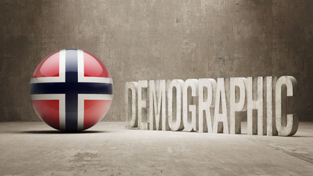 demographic: Norway High Resolution Demographic  Concept