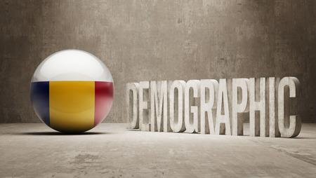 demographic: Romania High Resolution Demographic  Concept
