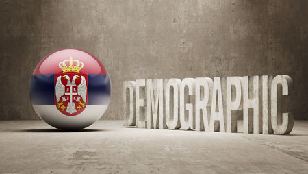 demographic: Serbia High Resolution Demographic  Concept
