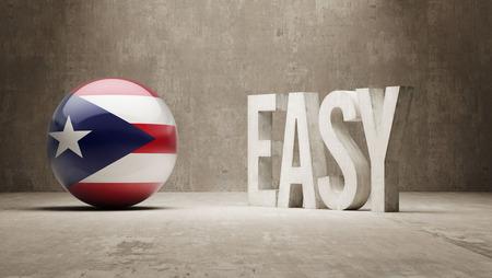 puerto rico: Puerto Rico High Resolution Easy  Concept Stock Photo