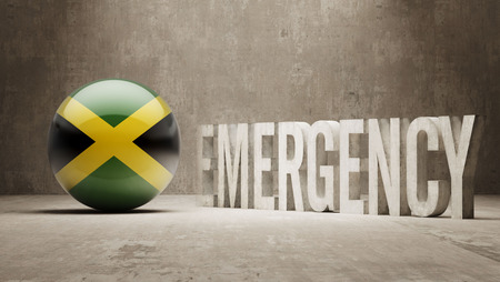 health care funding: Jamaica High Resolution Emergency  Concept
