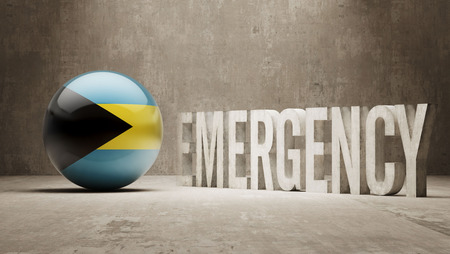 health care funding: Bahamas High Resolution Emergency  Concept Stock Photo