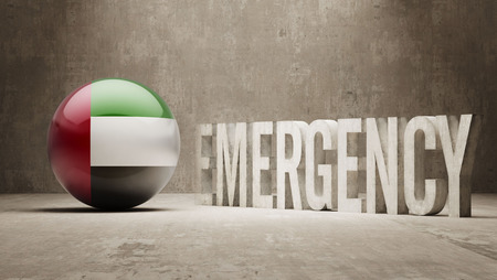 health care funding: United Arab Emirates High Resolution Emergency  Concept
