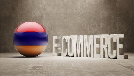 armenian: Armenia High Resolution E-Commerce  Concept