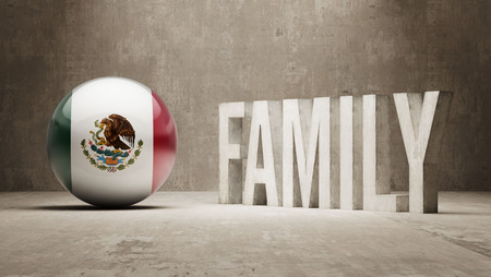 Mexico High Resolution Family  Concept photo