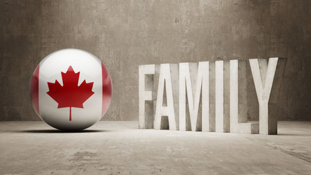 Canada High Resolution Family  Concept photo