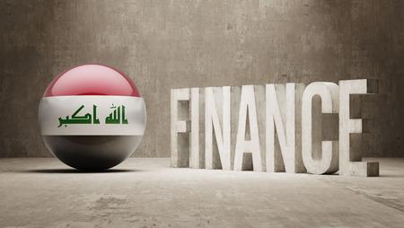 iraq money: Iraq High Resolution Finance  Concept