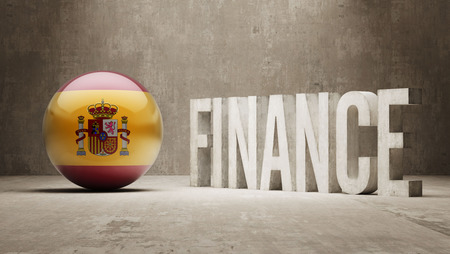 Spain High Resolution Finance  Concept photo