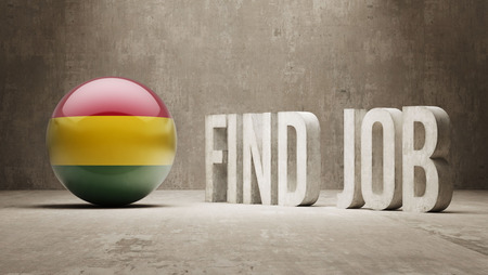 seeker: Bolivia High Resolution Find Job  Concept Stock Photo