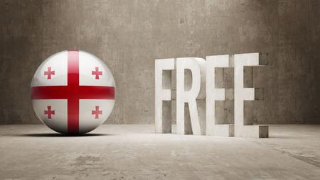 gratuity: Georgia High Resolution Free  Concept