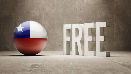 chilean: Chile High Resolution Free  Concept Stock Photo
