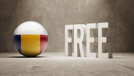 gratuity: Romania High Resolution Free  Concept