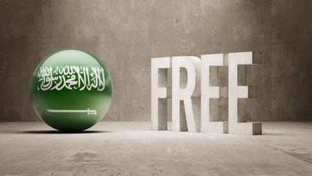 gratuity: Saudi Arabia High Resolution Free  Concept
