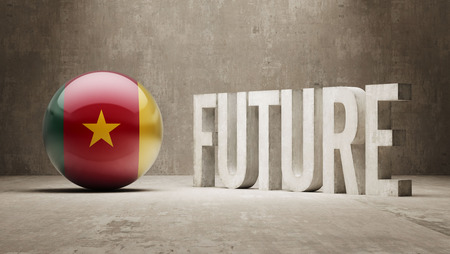 cameroon: Cameroon High Resolution Future  Concept Stock Photo