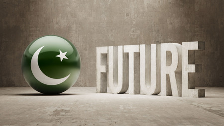 pakistani: Pakistan High Resolution Future  Concept Stock Photo