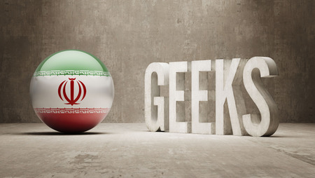 Iran High Resolution Geeks  Concept photo