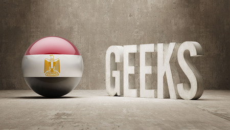 Egypt High Resolution Geeks  Concept photo